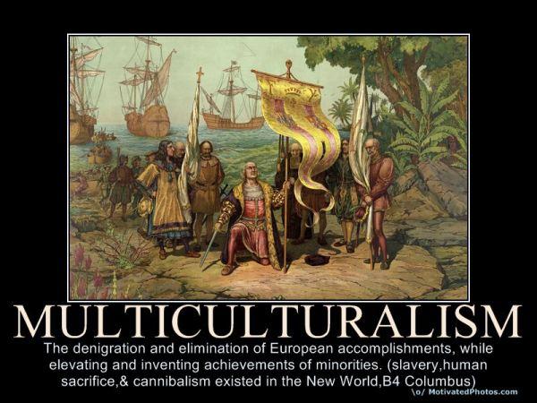 political correctness multiculturalism-poster-denigration